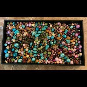 Vintage 2.4 pounds...1950-60's beads